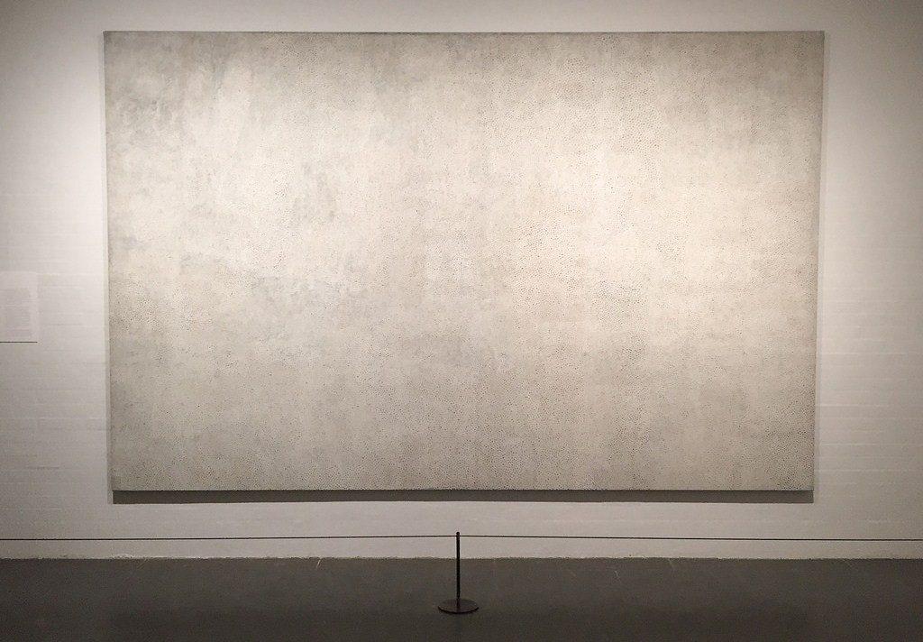 large blank canvas