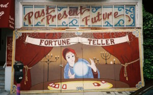fortune teller telling future faith
