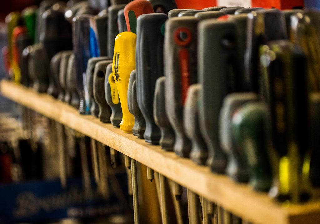 craftswoman tool rack