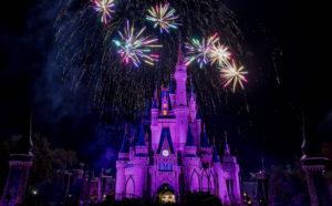 fireworks at walt disney world